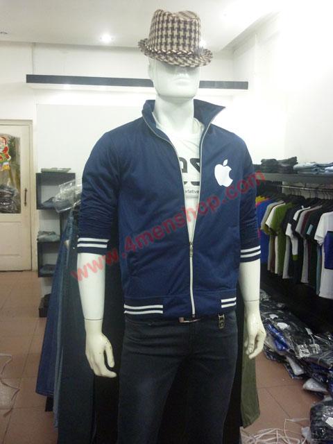 Áo khoác k49 xanh đen - 1