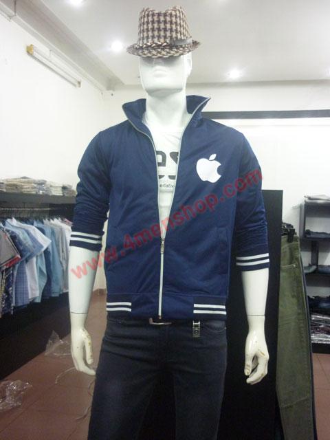 Áo khoác k49 xanh đen - 3