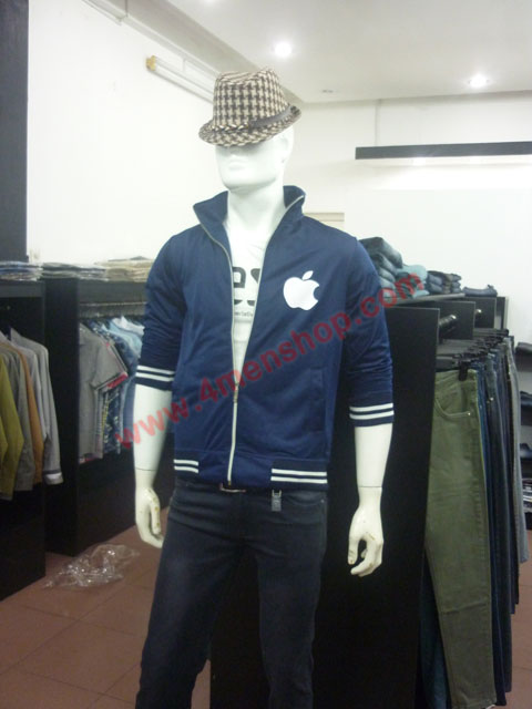 Áo khoác k49 xanh đen - 2
