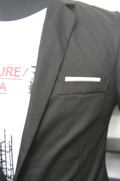 Áo vest v010 đen - 1