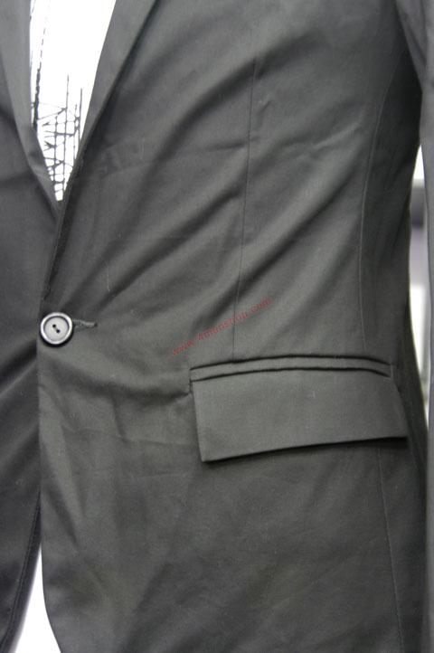 Áo vest v010 đen - 3