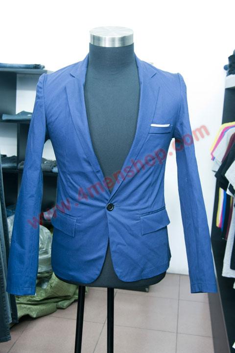 Áo vest v010 xanh - 1