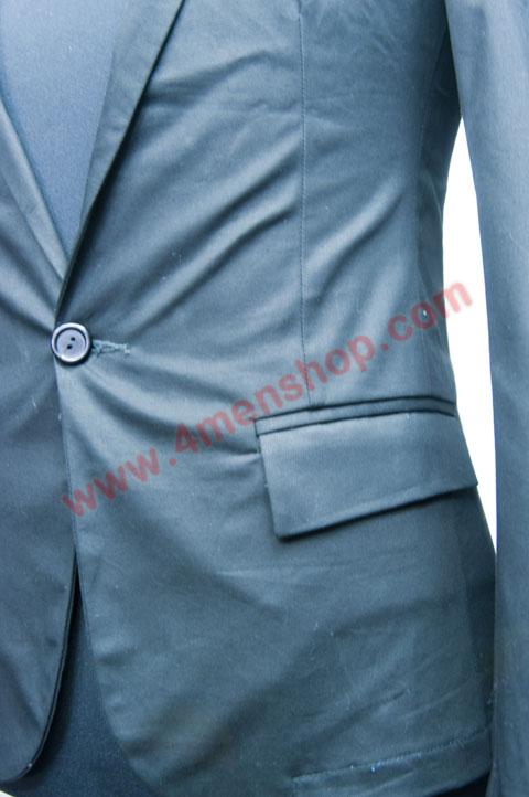 Áo vest v010 xanh đen - 3