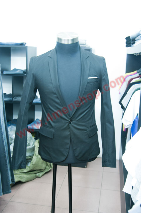 Áo vest v010 xanh đen - 2