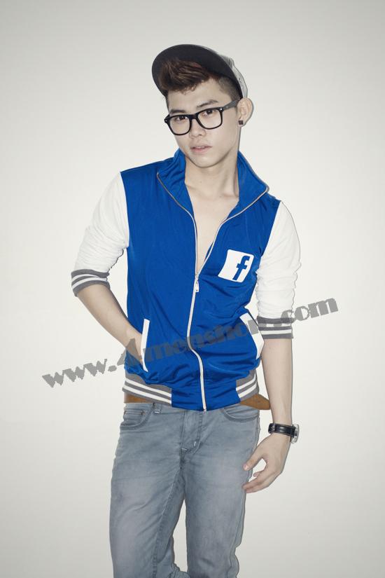 Áo khoác bóng chày playboy k41 xanh - 3