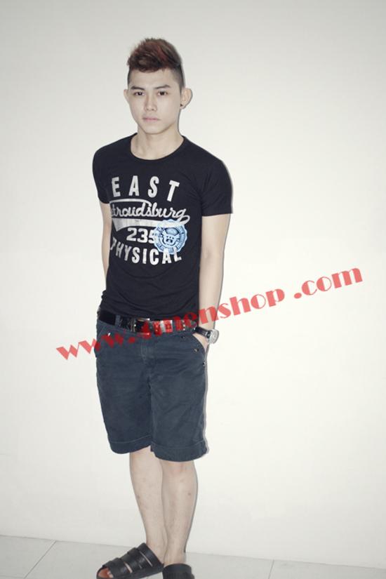 Áo thun teen at0116 đen - 3
