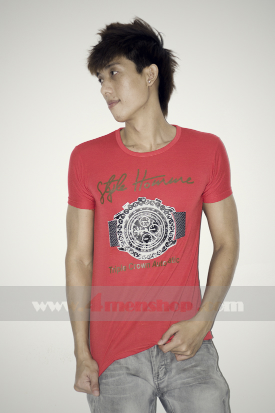 Áo thun teen gía rẻ at0125 đỏ - 1