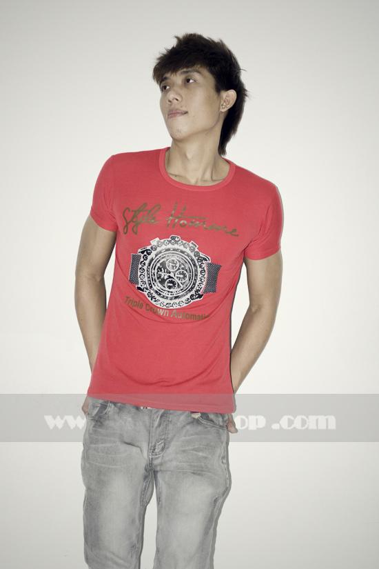 Áo thun teen gía rẻ at0125 đỏ - 3