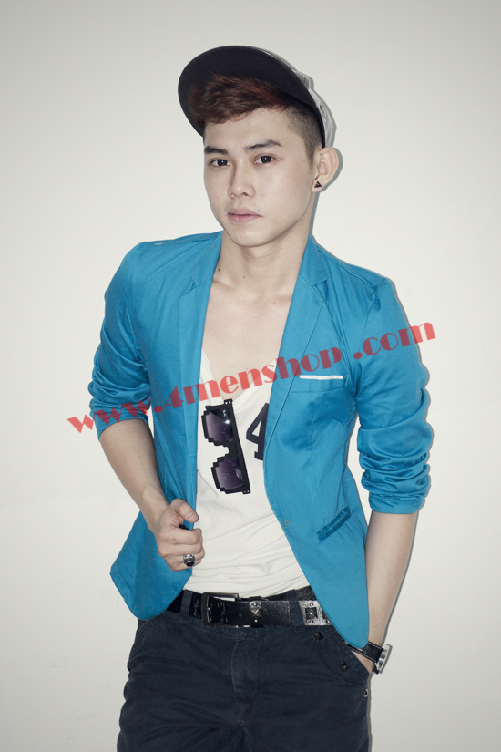 Áo vest blazer v1004 xanh - 1