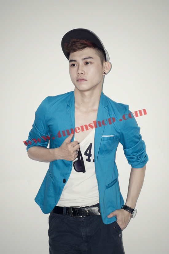 Áo vest blazer v1004 xanh - 3