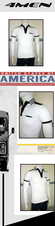 Áo thun có cổ trắng at360 - 1