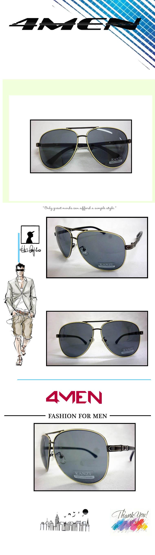 Mắt kính nam trắng mkf003 - 1