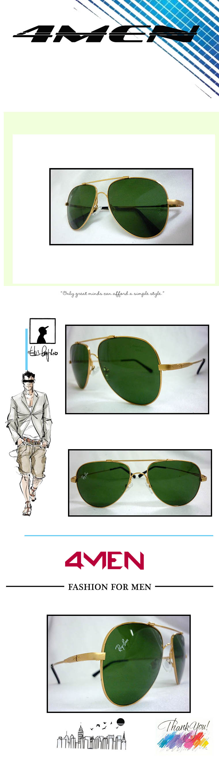 Mắt kính nam vàng mkf001 - 1