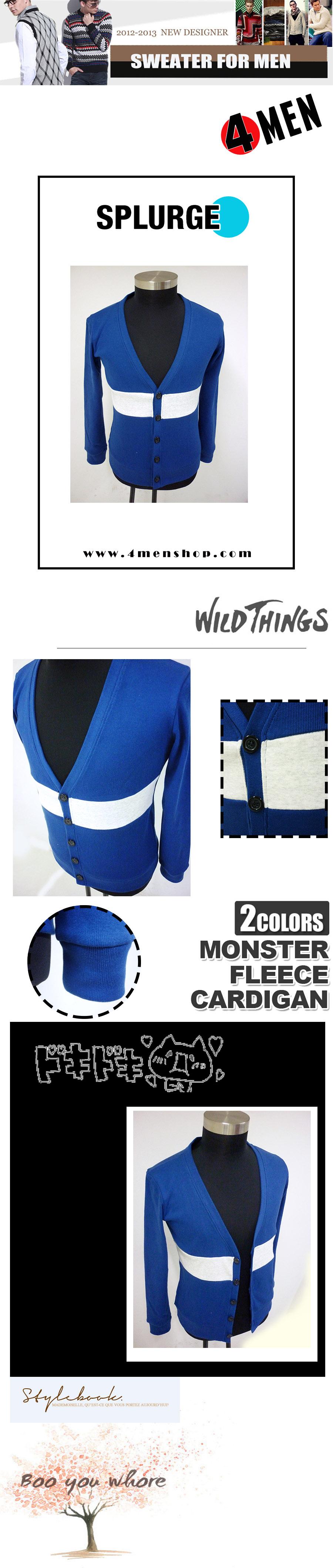 Áo khoác cardigan xanh dương ac058 - 1