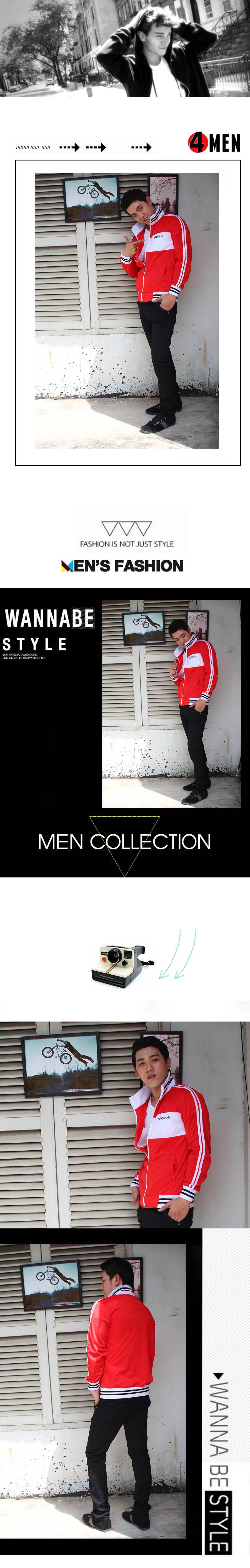 Áo khoác adidas đỏ đô ak0001 - 1