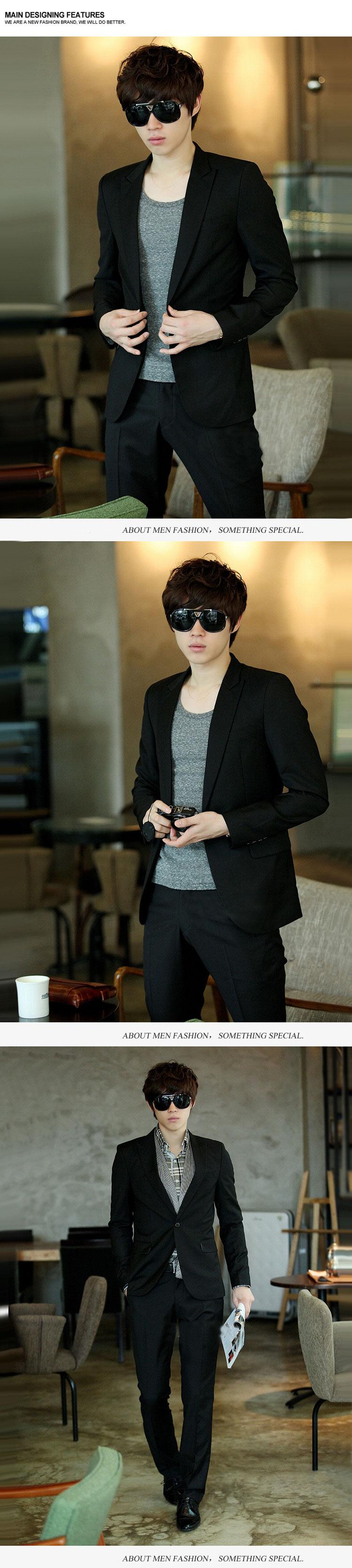 Áo vest blazer v1011 đen - 1