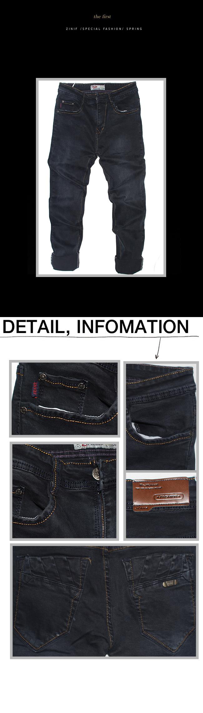 Quần jean xanh đen qj1115 - 1
