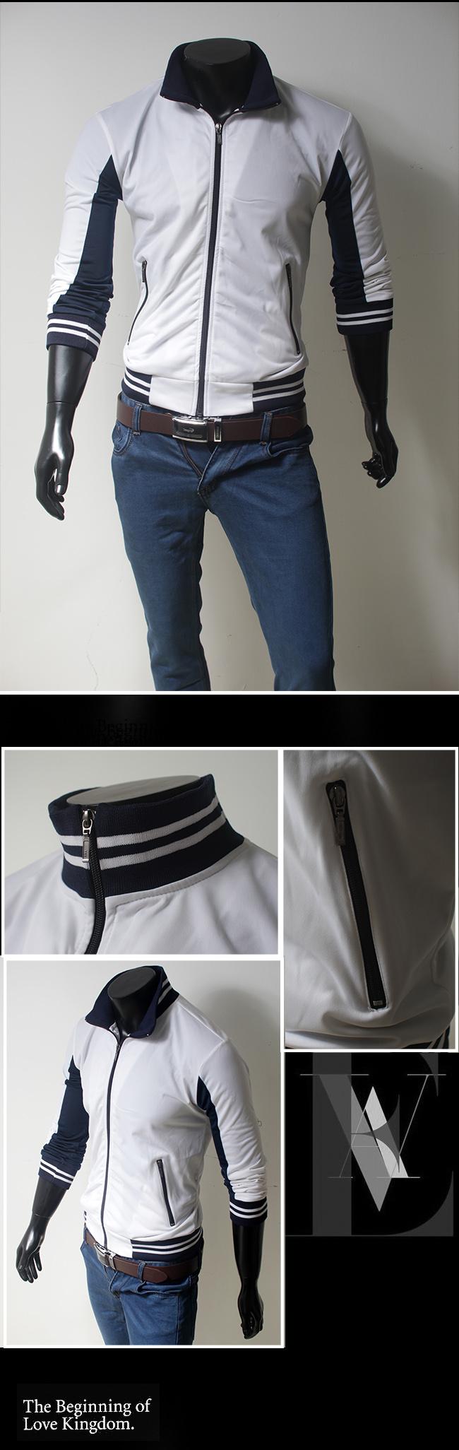 Áo khoác trắng ak096 - 1