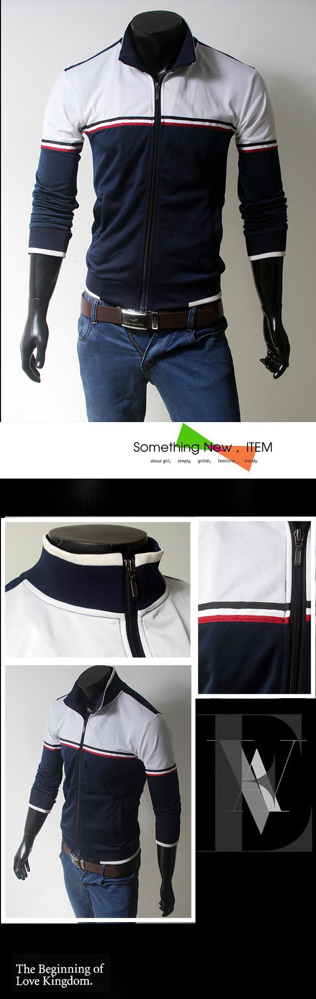 Áo khoác xanh đen ak079 - 1