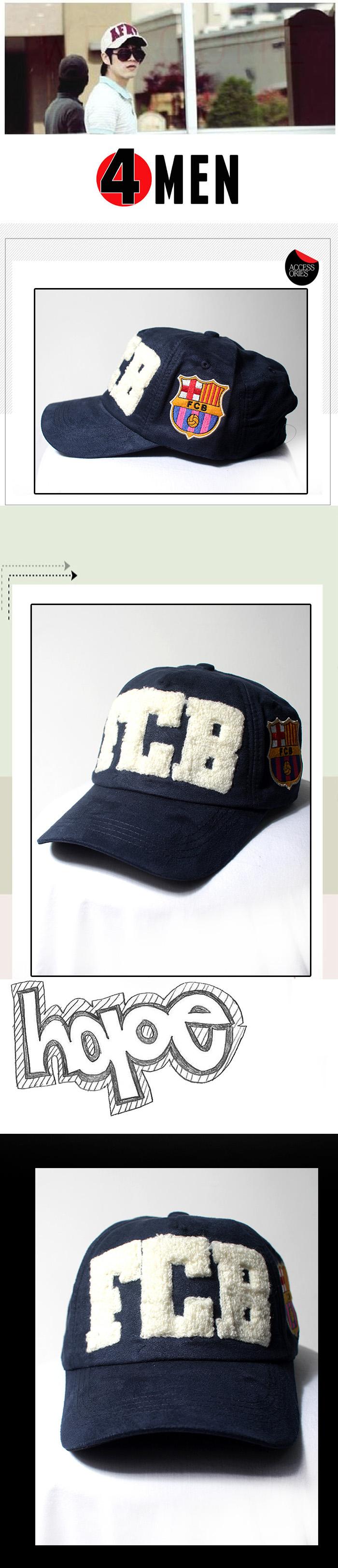 Nón fcb xanh nf073 - 1