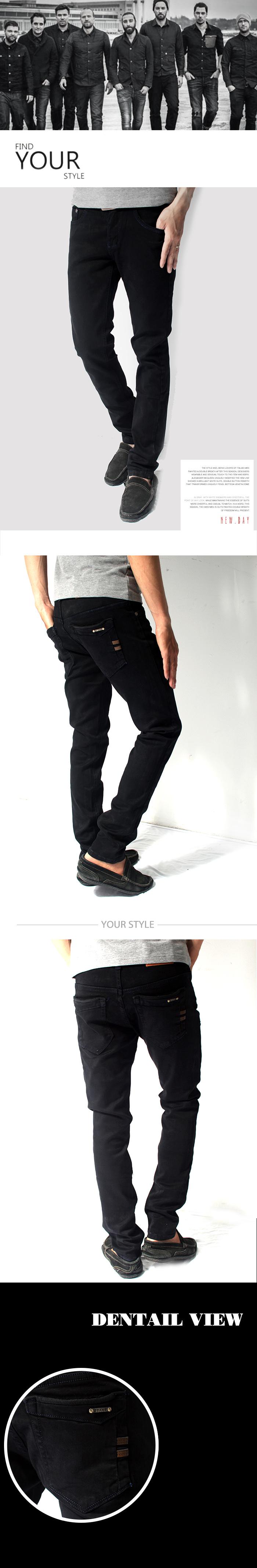 Quần jean đen qj1140 - 1