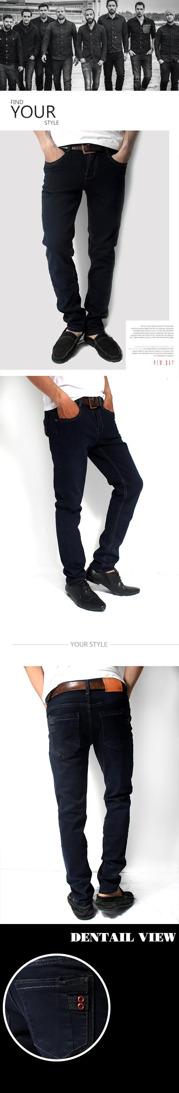 Quần jean xanh đen qj1142 - 1