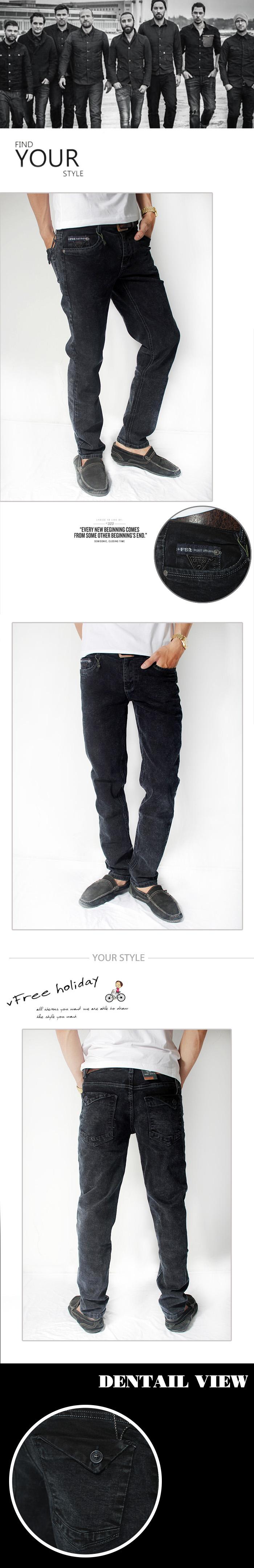 Quần jean xanh đen qj1154 - 1