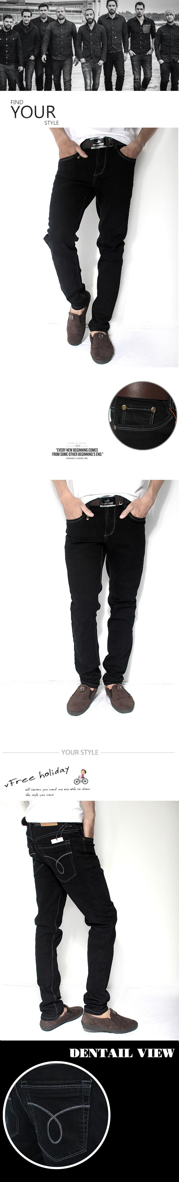Quần jean đen qj1176 - 1
