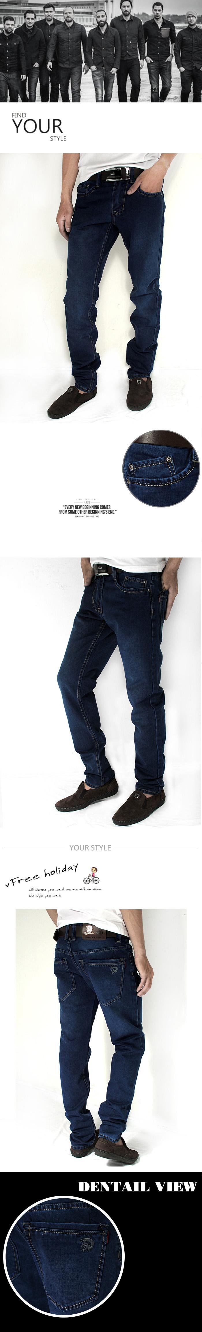 Quần jean ống đứng xanh đen qj1172 - 1