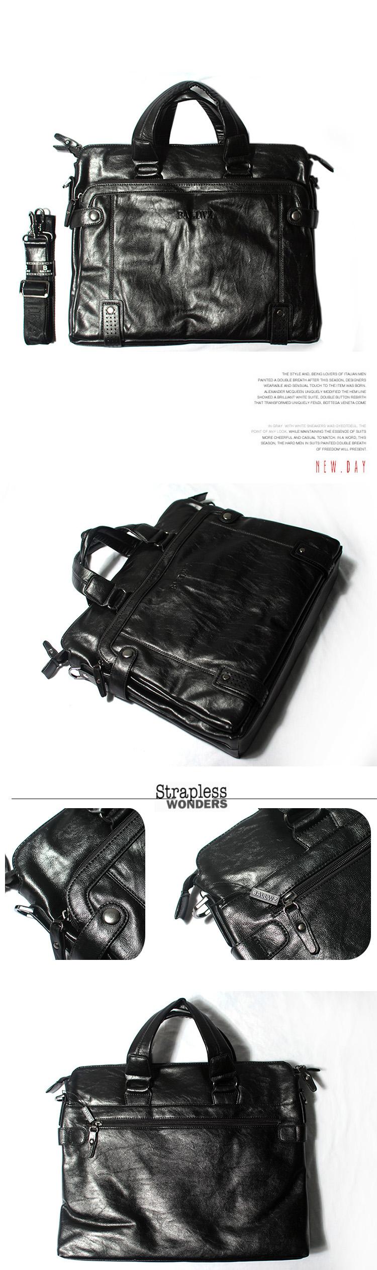 Túi xách da đen txf011 - 1