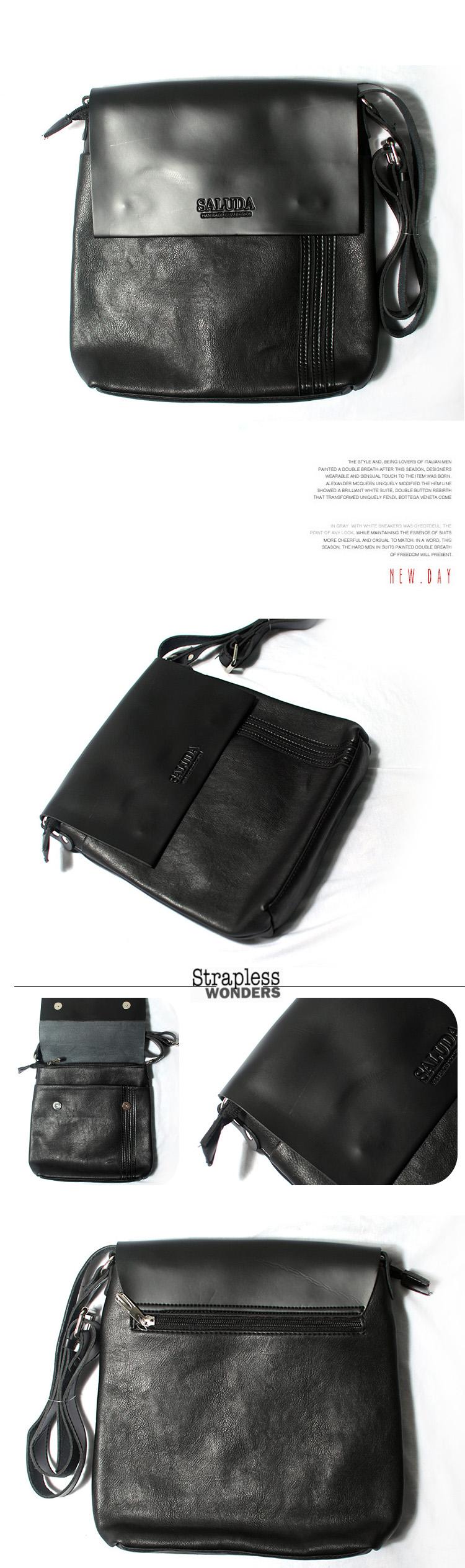Túi xách ipad da đen txf012 - 1