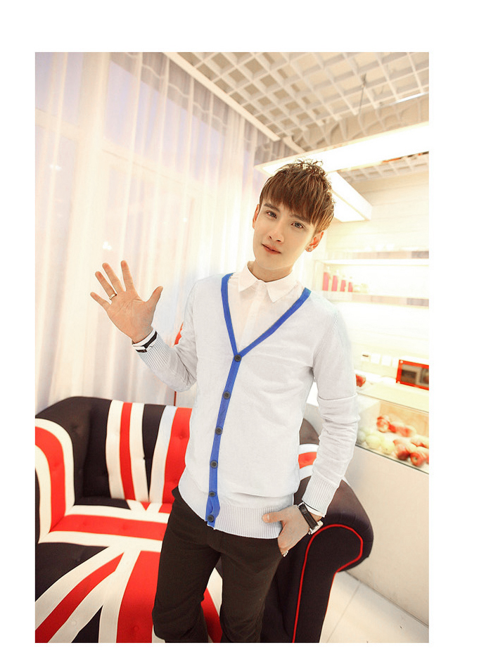 Áo khoác cardigan trắng ac082 - 1
