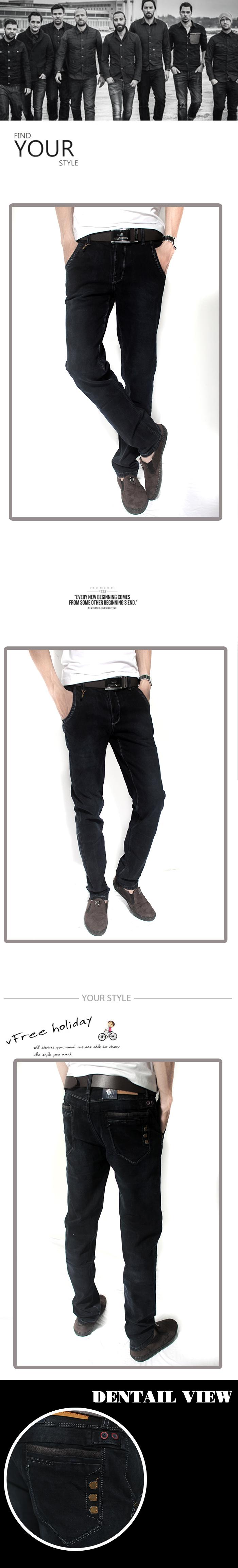 Quần jean đen qj1182 - 1
