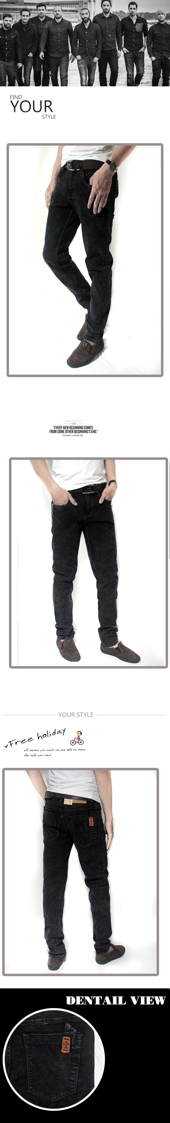 Quần jean đen qj1183 - 1