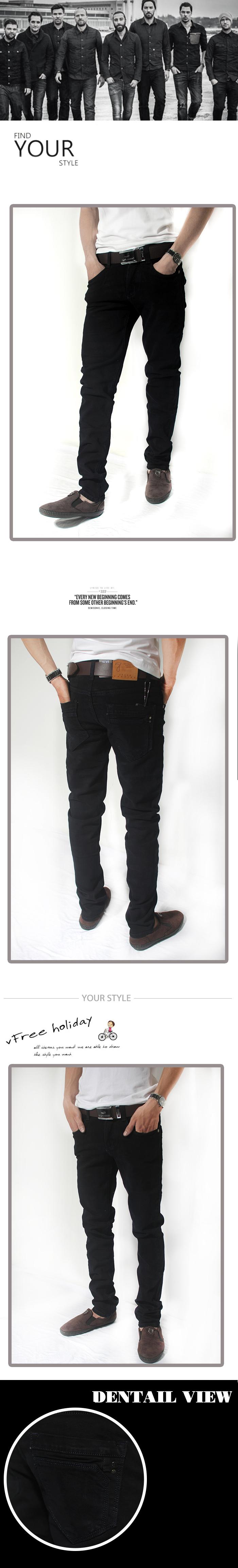 Quần jean đen qj1187 - 1