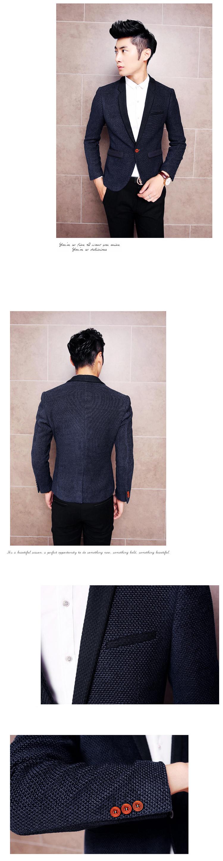 Áo vest cao cấp xanh đen av2l1036 - 1