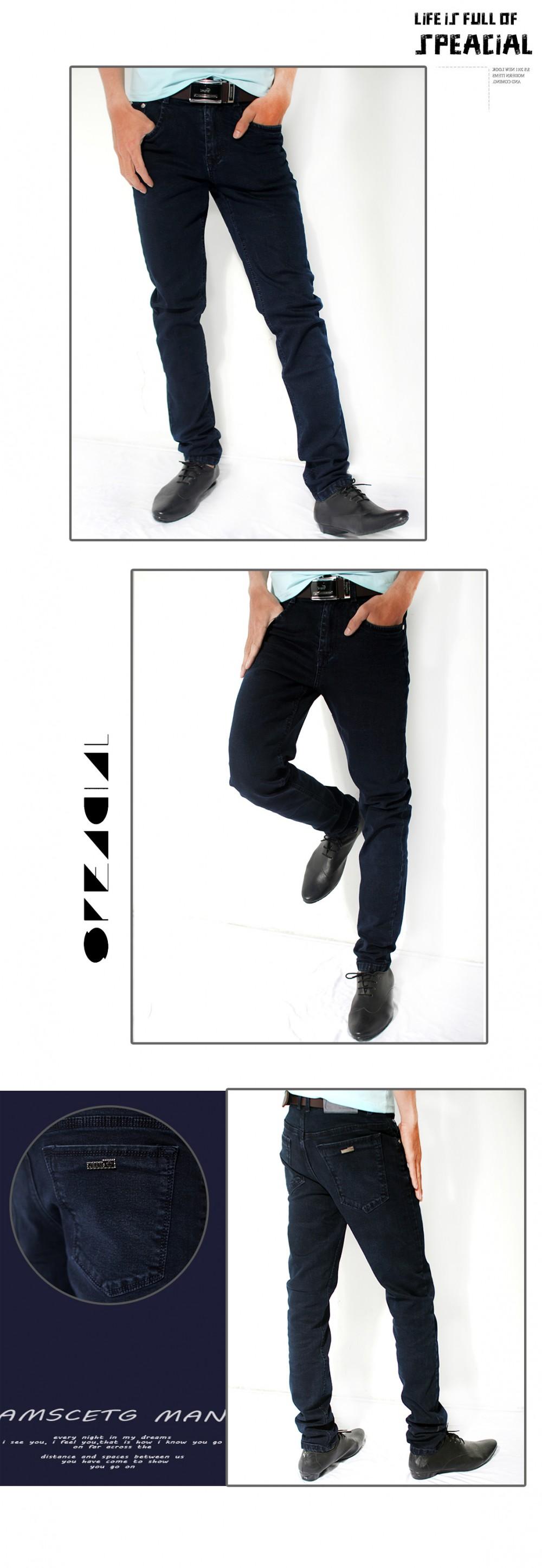 Quần jean xanh đen qj1197 - 1