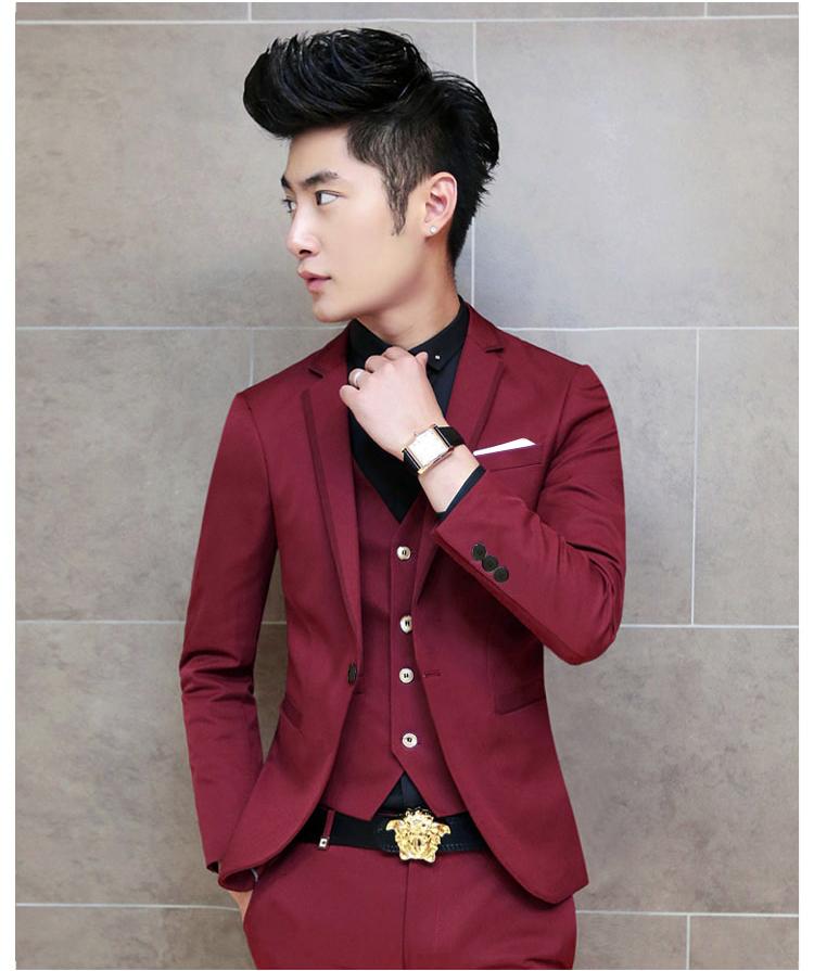 Áo vest cao cấp đỏ đô av2l1049 - 1