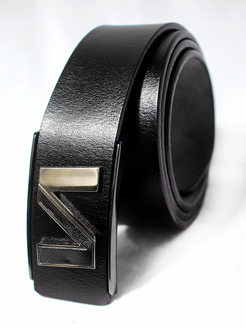 Thắt lưng nam chữ n đen tl65 - 1