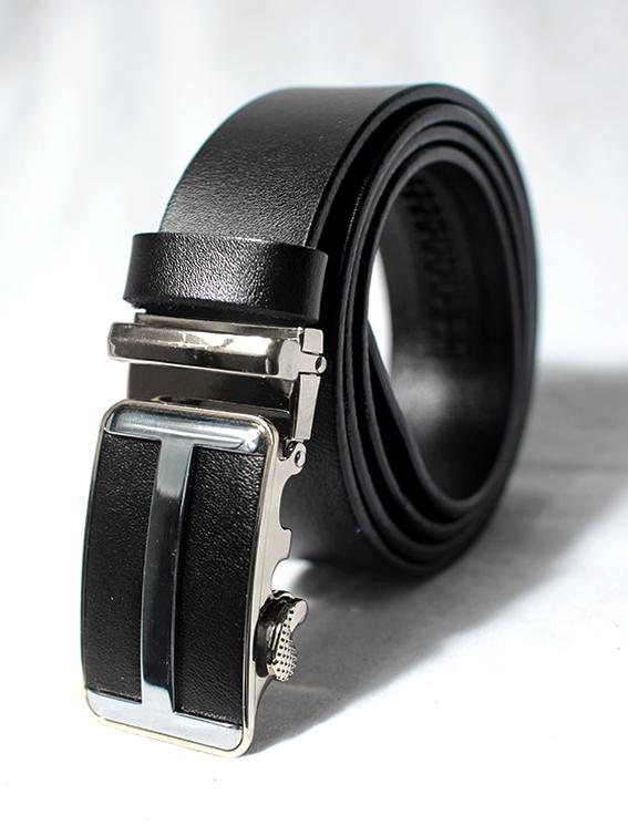 Thắt lưng nam chữ h đen tl71 - 1