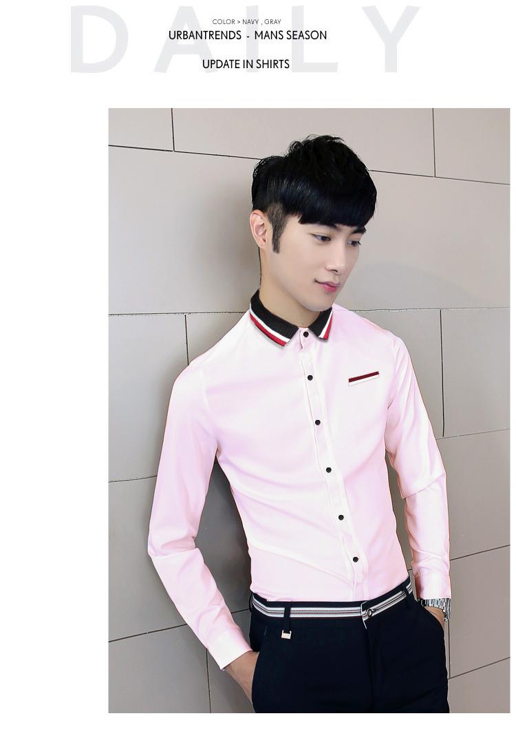 Ao So Mi Hong Co Bo Det ASM576