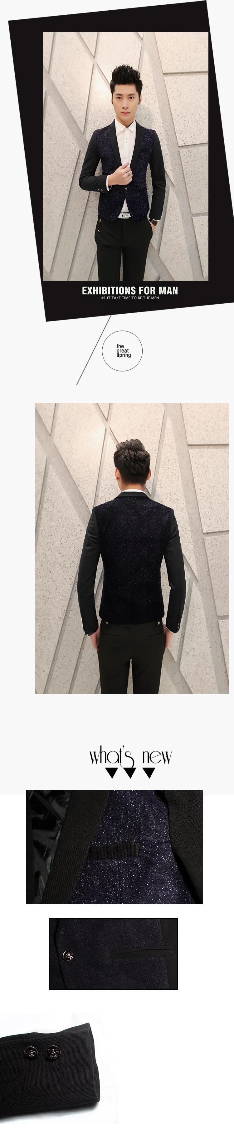 Áo vest cao cấp xanh đen av2l1057 - 1