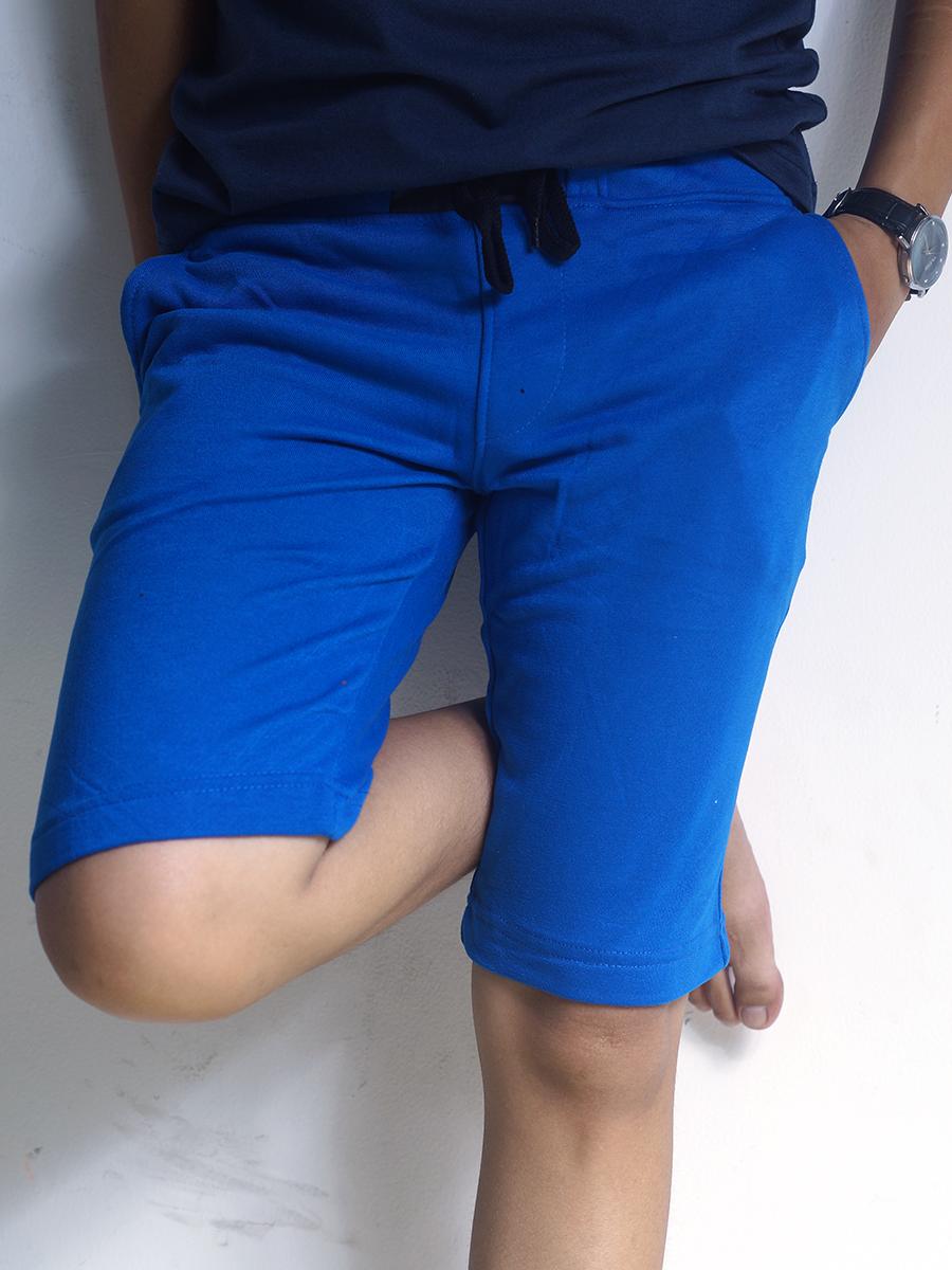 Quần short thun xanh bích qs34 - 1