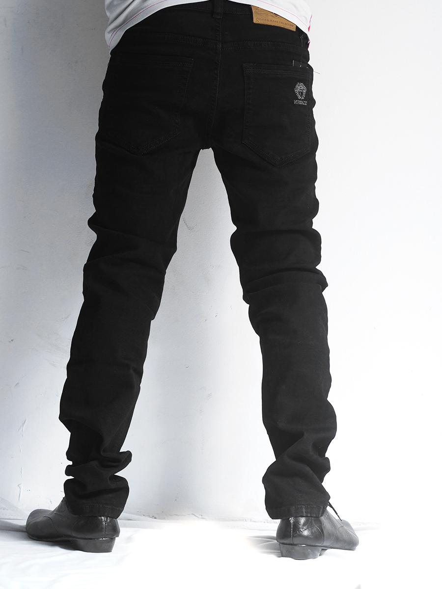 Quần jean đen qj1234 - 2