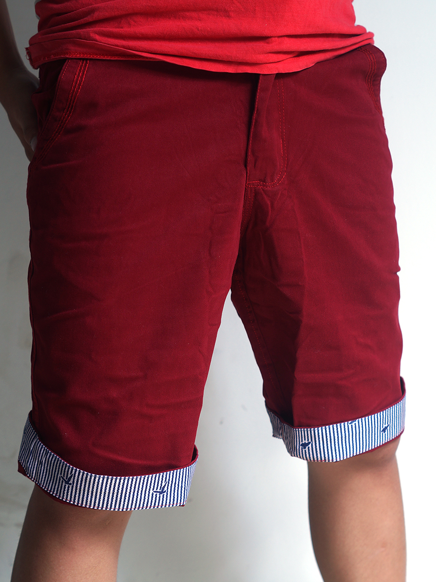 Quần short kaki đỏ qs21 - 1