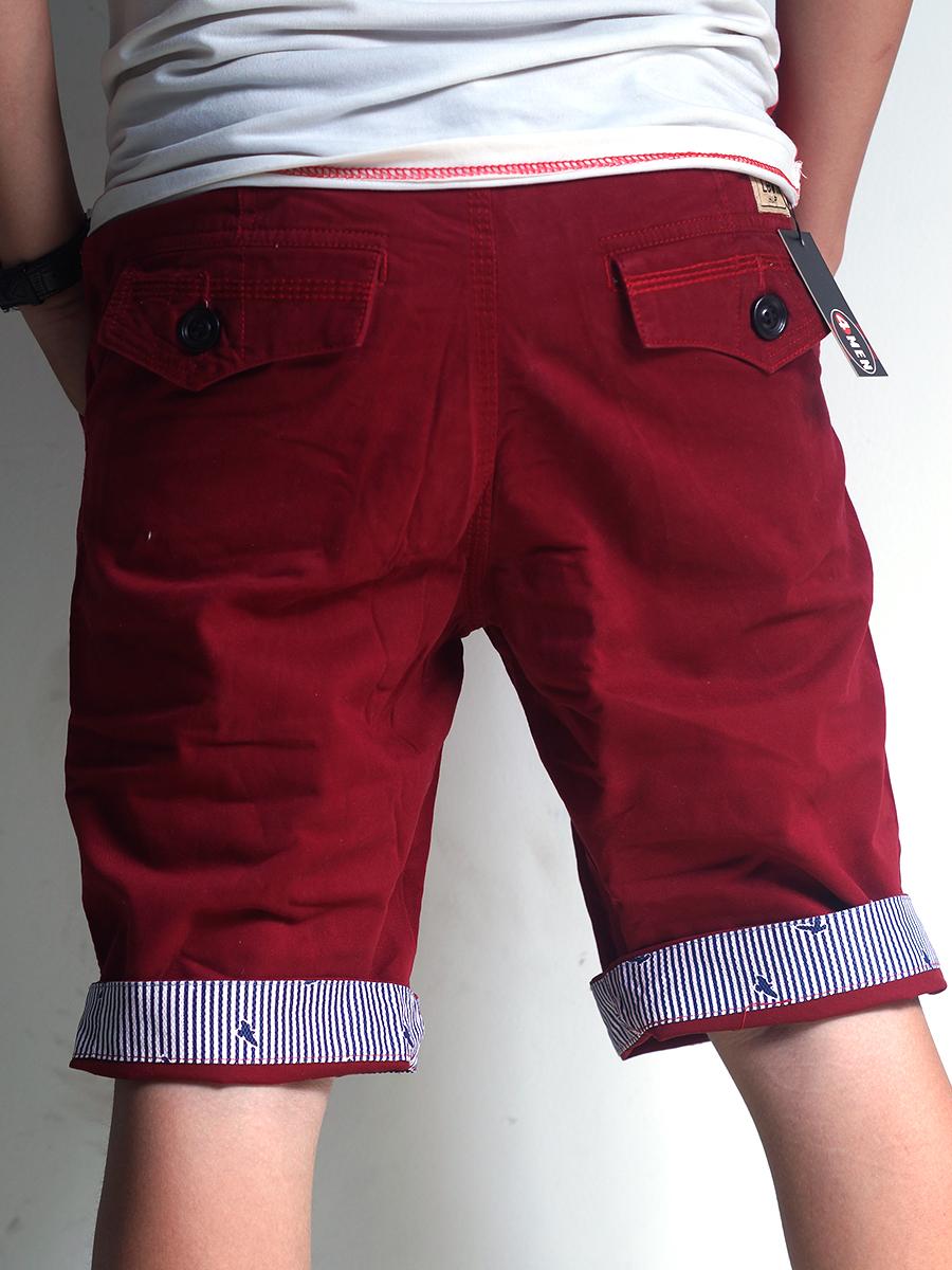 Quần short kaki đỏ qs21 - 2