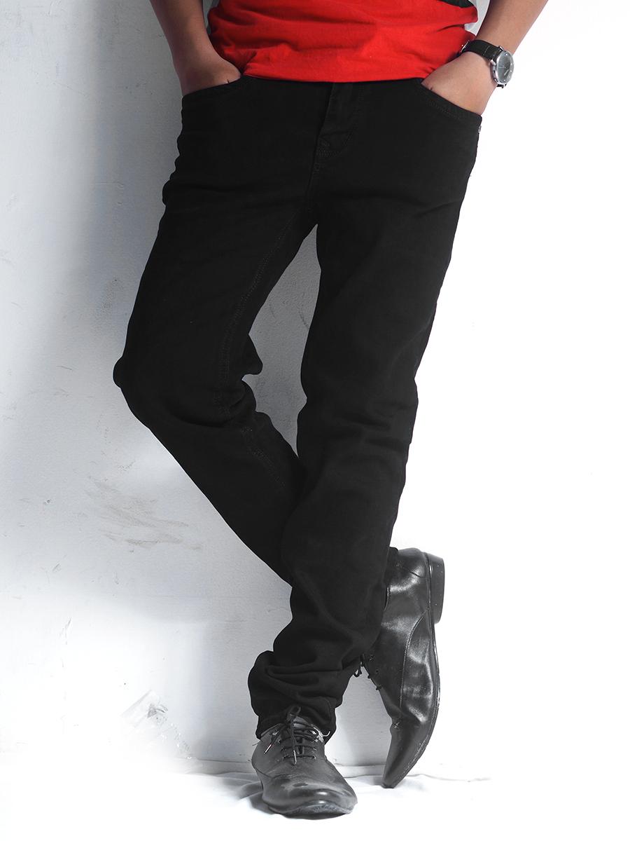 Quần jean đen qj1232 - 1