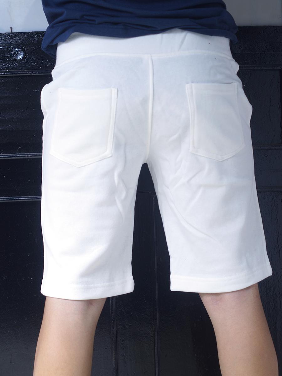 Quần short thun trắng qs33 - 2
