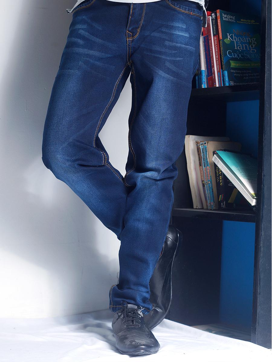 Quần jean xanh đen qj1231 - 1