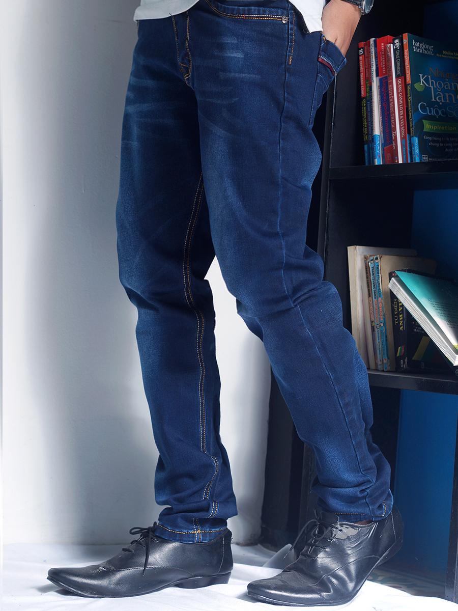 Quần jean xanh đen qj1231 - 2